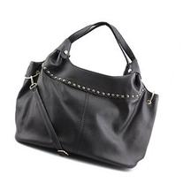 MG Collection Adora Studded Womens Synthetic Shoulder Bag