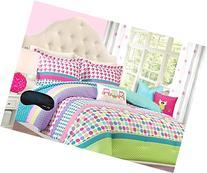 Adorable Girls Teen Kids OWL Bedding Comforter Set FULL