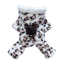 Adorable Leopard Dog Coat for Dog Hoodie Dog Clothes Soft