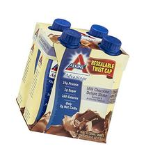 Atkins Advantage RTD Shake Milk Chocolate Delight -- 4