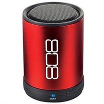 808 Canz ADXSP880RDR Bluetooth Portable Speaker