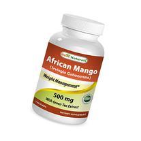Best Naturals African Mango 500 mg 120 VCaps