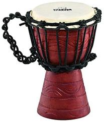 NINO African Style Rope Tuned Djembe 4 1/2-Inch XX Small