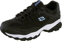 Skechers Men's After Burn Memory Fit Cross Training Shoe,