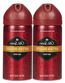 Old Spice Body Spray, After Hours, 4 oz