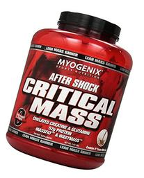 Myogenix Aftershock Crit Mass, Cookies & Cream, 5.62L, 6.4