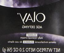 Olay Olay Age Defying Daily Renewal Skin Cream, 2 oz