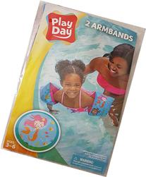 Play Day Ages 3-6 Mermaids Armband Water Wings