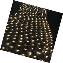 AGPTEK 300 LED Warm White Net Mesh Fairy String Lights for