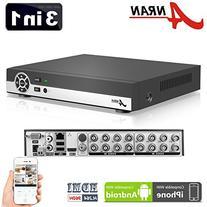 ANRAN 16 Channel 1080N AHD DVR HD Digital Video Recorder for