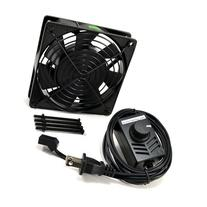 AC Infinity AI-120SCX Speed Control Fan Kit for Cabinet