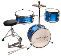 Spectrum AIL 620B 3-Piece Junior Drum Set with 8-Inch Crash