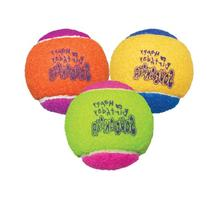 KONG Air Dog Squeakair Birthday Balls Dog Toy, Medium,