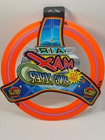 Air Max Flex Grip Ring Flyer Orange Frisbee Round Flying