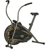 Air Resistance Exercise Bike with Tension Knob Adjusts Pedal