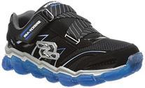 Skechers Kids 95104L Boys Air Sneaker,Black/Royal,2 M US