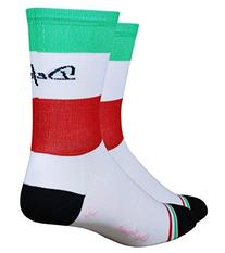 Defeet Aireator Tall Italia Socks, X-Large