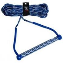 """AIRHEAD AHWR-3 Wakeboard Rope, 3 Section with 15"""" EVA Handle"""