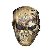 OutdoorMaster Airsoft Mask - Full Face Mask Mesh Eye