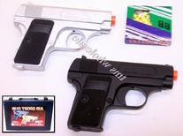 BBTac Airsoft Pistol Guns Two Pack Pocket Spring Handgun