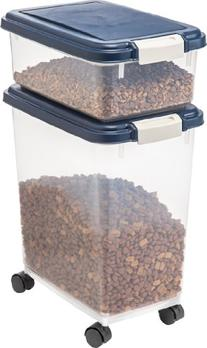 IRIS Airtight Food and Treat Combo Container