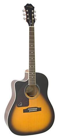 Epiphone AJ-220SCE Acoustic Electric Guitar, Vintage