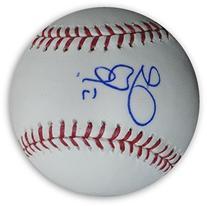 AJ Ellis Hand Signed Autographed Major League MLB Baseball