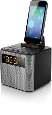 Philips AJT3300/37 Bluetooth Dual Alarm Clock Radio iPhone/