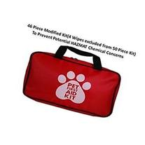 AKC Pet First Aid Kit, Red  Modified