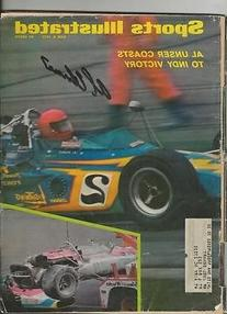 Al Unser Signed June 8 1970 Sports Illustrated Full Magazine