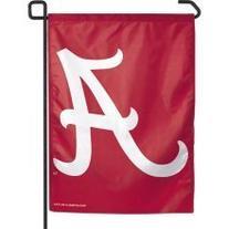Alabama Crimson Tide Big A Style Garden Flag