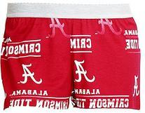 Ladies Alabama Crimson Tide Crimson Fusion Boxer Shorts