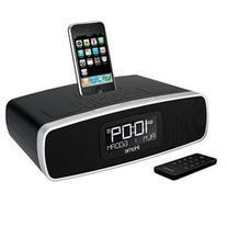 iHome iP90 Dual Alarm Clock Radio AM/FM Presets & Dock for