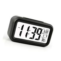 Alarm Clock Slim Digital Clock Large Display Travel Alarm