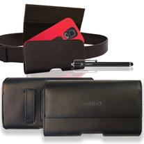CellBee® Alcatel One Touch Premium Leather Pouch Carrying