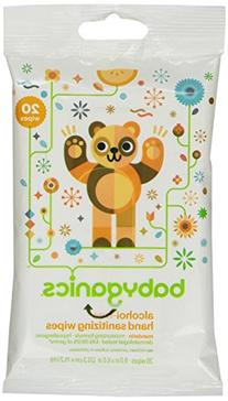 BabyGanics Alcohol Free Hand Sanitizer On the Go Wipes,