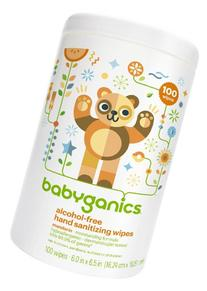 Babyganics Alcohol-Free Hand Sanitizing Wipes Canister