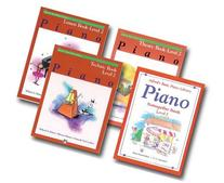 Alfred Basic Piano Library Course Pack Level 2 - Four book