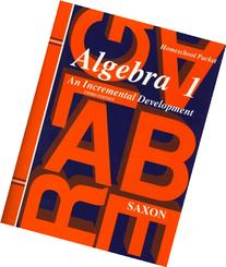 Algebra 1: An Incremental Development, Homeschool Packet