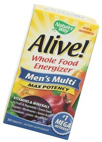 Nature's Way Alive! Max3 Daily Men's Multivitamin, Food-