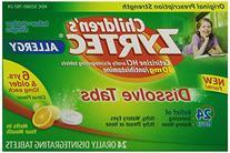 Children's Zyrtec Allergy Dissolve Tabs 10 mg Citrus Flavor
