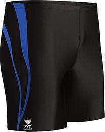 TYR Sport Men's Alliance Durafast Splice Square Leg Swim