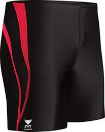 TYR  Men's Alliance Durafast Splice Square Leg Swim Suit