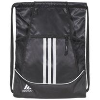 adidas Alliance II Sackpack, 18 x 13 3/4-Inch, Black