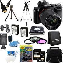 Sony Alpha 7K a7K Digital Camera and 2 64 GB SDXC Cards and