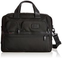 Tumi Alpha 2 Expandable Organizer Laptop Brief, Black, One