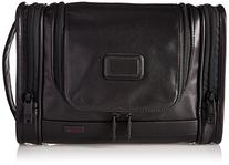 Tumi Alpha 2 Hanging Leather Travel Kit, Black, One Size