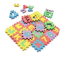 HuntGold 36X Alphabet Number EVA Puzzle Foam Mats Baby Child