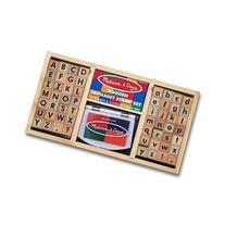 Melissa Doug Alphabet Stamp Set