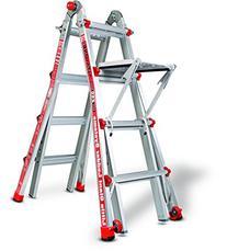 Little Giant Alta One 17 Foot Ladder with Work Platform